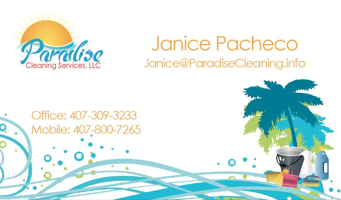 Paradise Cleaning | Christina Colon-Rodriguez